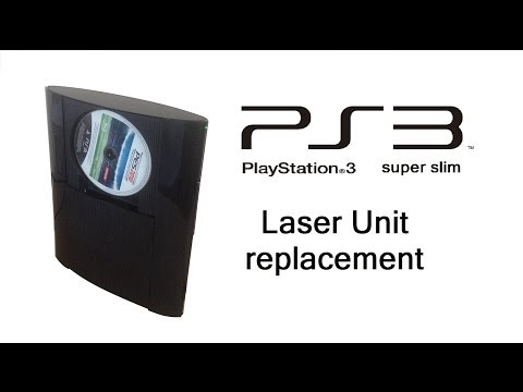 PlayStation 3 Super / Ultra Slim - Blu-Ray Laser Unit / HDD Replacement, Upgrade