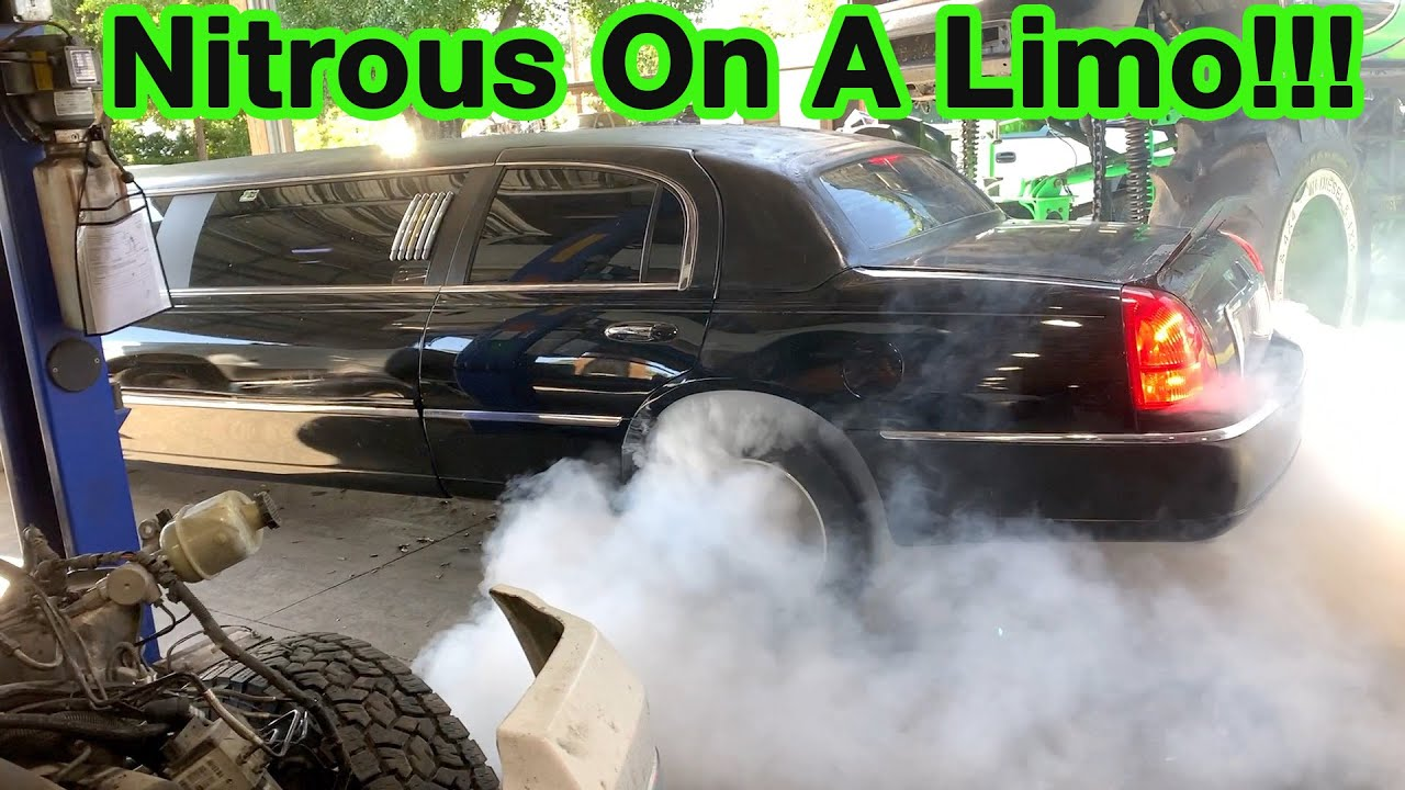 Installed Nitrous on My Luxurious Limo To Race At The Freedom Factory!! It Rips!!!