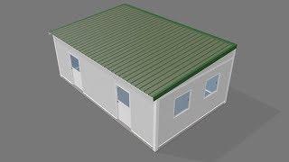 Create a Cabin - Small, single slope, outside build kit - PakVim net