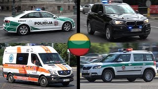 [Lithuania] Police and Ambulance in Vilnius (collection)