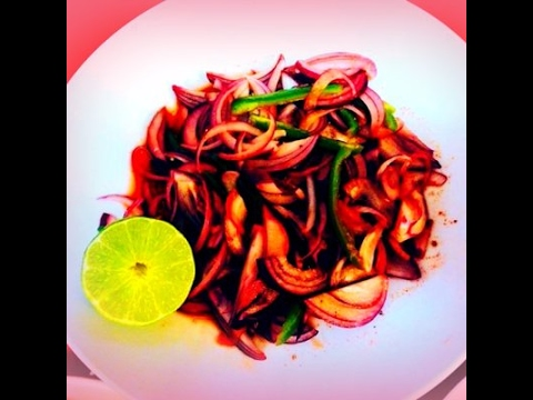 Lime and Vinegar Onion Salad