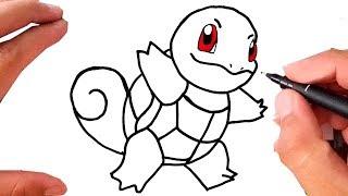 Como Desenhar Pokemon Squirtle