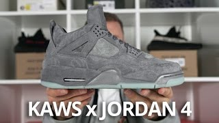 KAWS x Jordan 4 EARLY Look