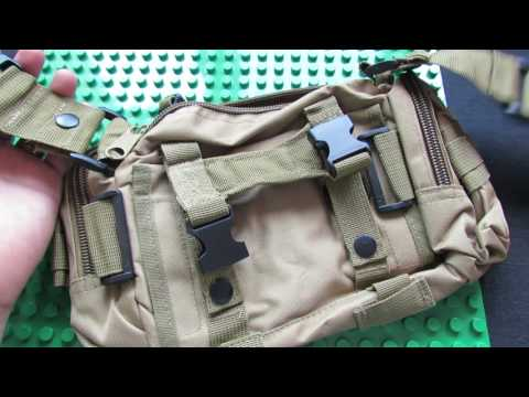 Unboxing Tantuqi 5L Multifunctional Utility Canvas Waist Bag