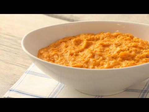Mashed Sweet Potatoes- Martha Stewart