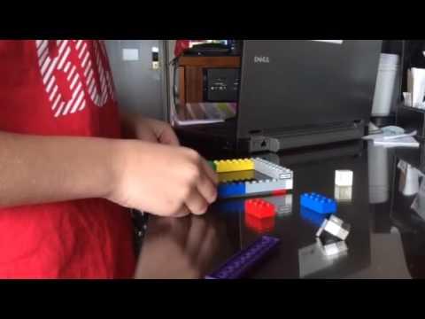 Jacob's Lego ipod case