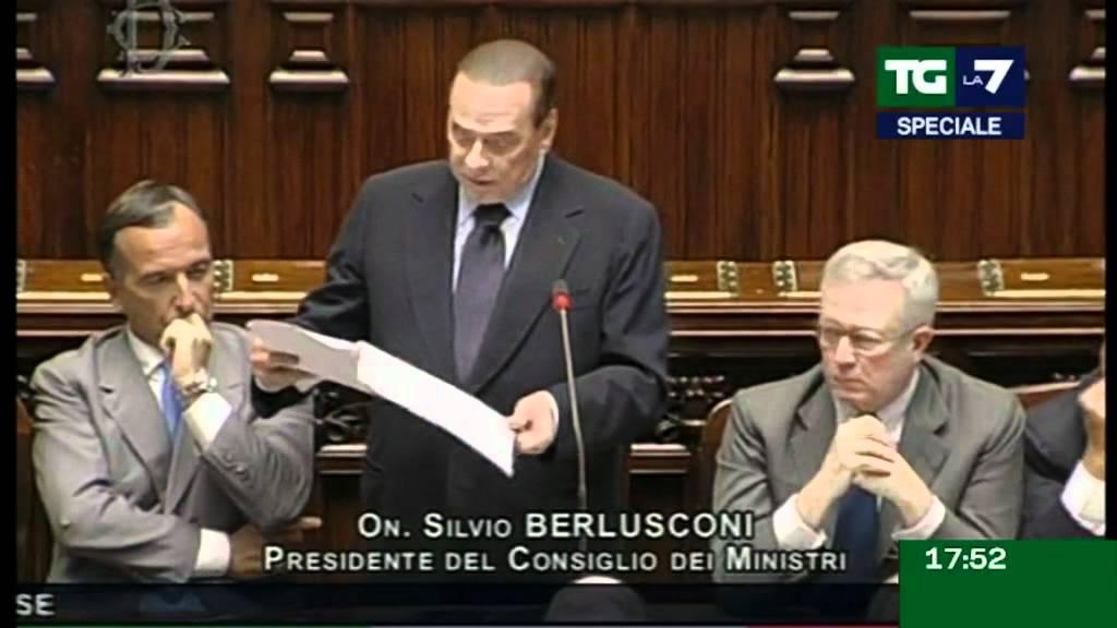 Tg La7 - SPECIALE TG PER IL DISCORSO DI BERLUSCONI ALLE CAMERE - 03/08/2011
