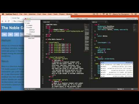 Designers Learning jQuery Episode 4: jQuery Tabs without a Plugin!