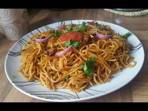 Spaghetti Stir Fry| Pork Chowmein | Nepali Food