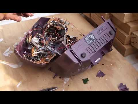 How To Scrap A Radio, CD and Cassette Tape Player