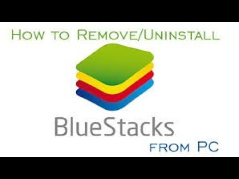 How To Completely Uninstall The BlueStacks Android App Player by Technical Pc Trikes
