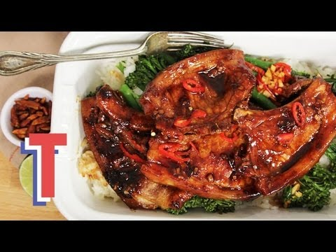 Marinated Pork Chops With Broccoli: Simply Sublime