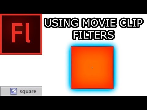 Working with Movie Clips in Flash CS5: 001 Effects