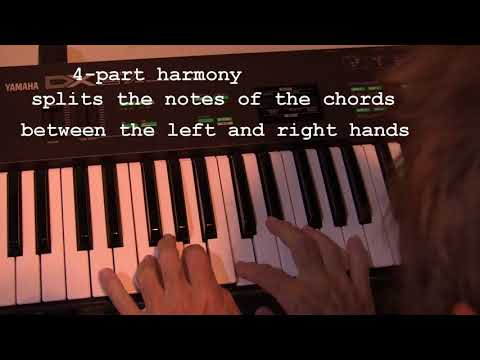 Learn to play keyboard in different ways