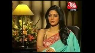 Sridevi interview on Aaj Tak