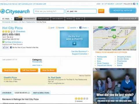 How to Leave a Review for a Local Business on Citysearch