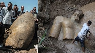MASSIVE 3,000-Year-Old Statue May Be