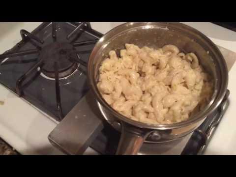 Reheating Mac-N-Cheese using Simmer Sticks Part 2