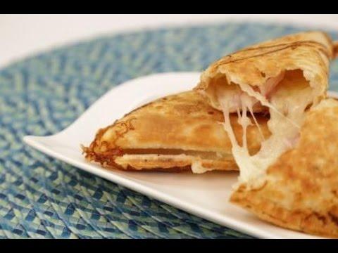 Ham & Cheese Pocket Recipe made in your Empanada Maker