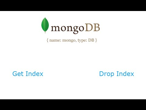 Fetch Index and Drop / remove Index: MongoDB