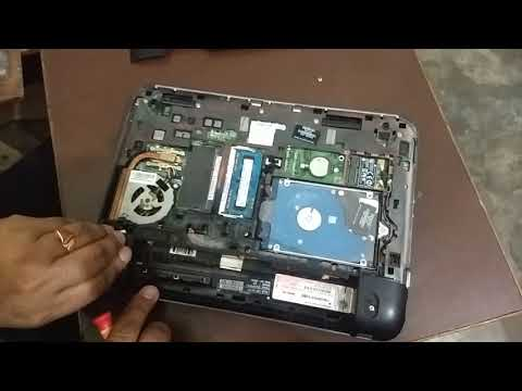 How to Replace Keyboard on HP dim1 4003AU(Sai Computer)