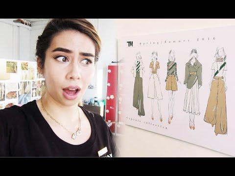 DEADLINE DAY! | Fashion Design at University Vlog #4