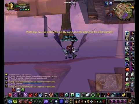 how to get under dalaran bank part 2/3 world of warcraft