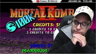 🔴 Rumo Ao Recorde Mundial Mortal Kombat 2 (arcade) - Aprendendo E Evoluindo!!
