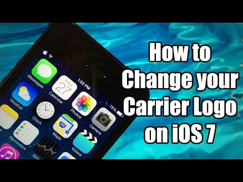 How to Change your Carrier Logo on iOS 7