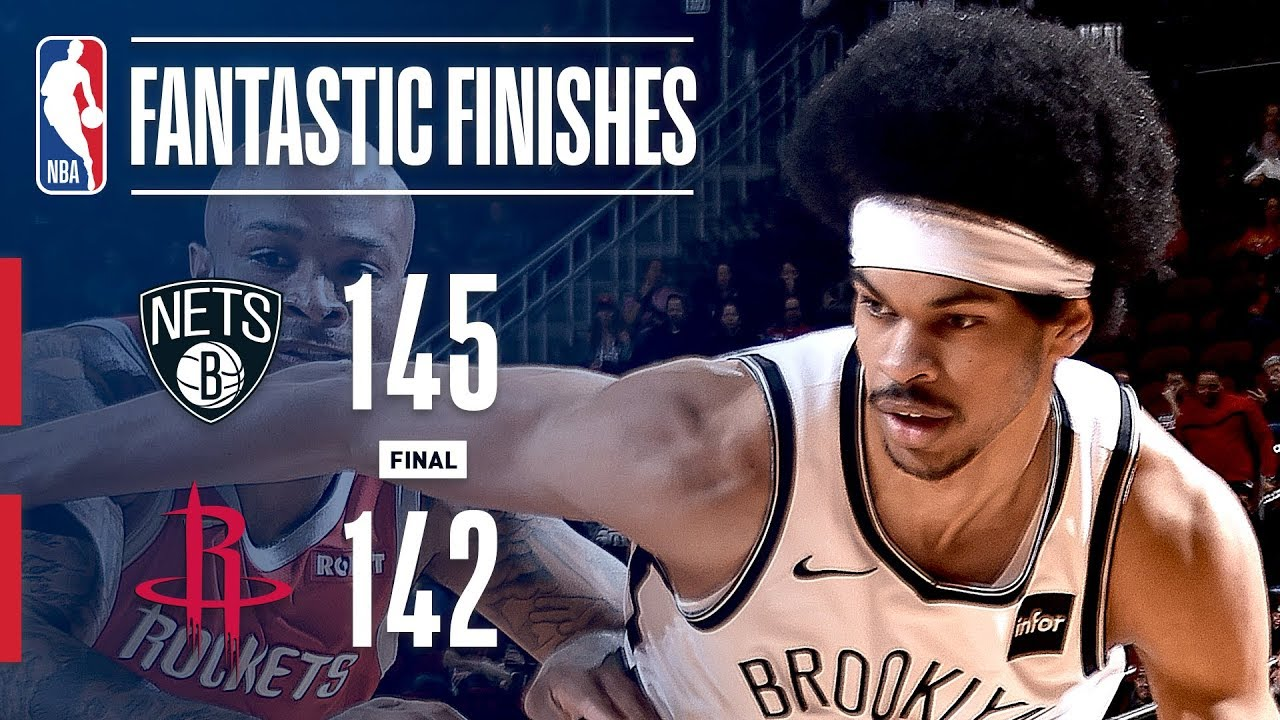 The Nets and Rockets Engage In a Fantastic Finish | January 16, 2019