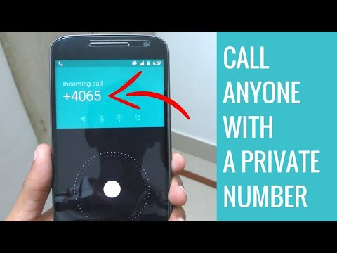 Call someone Without Showing your Number | Private Calling free