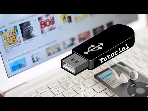 iTunes: Transfer music to usb tutorial