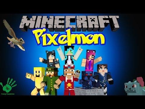 Minecraft: Touring Squid's House and Haunted Mine! NF Pixelmon Server (Pokemon Mod)