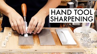 How I Sharpen My Hand Tools & Making a Sharpening Stone Jig