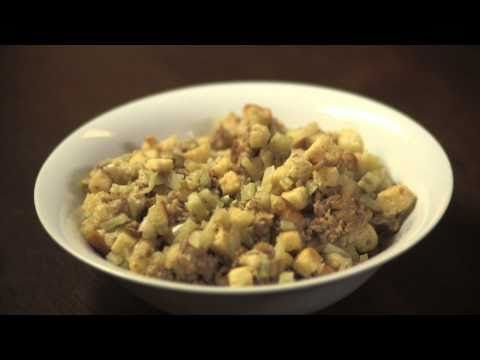 How to Make Sausage Fennel Stuffing: Delicious Thanksgiving Dinner Recipe | Pottery Barn