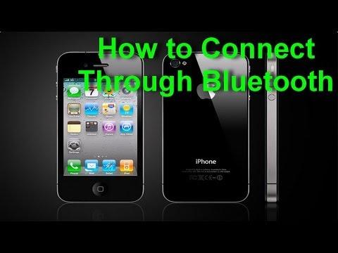 Apple iPhone 4S - How to Connect Through Bluetooth