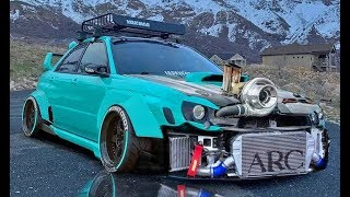 LOUD Turbo CARS from Hell Crazy SOUNDS