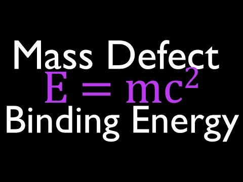 Mass Defect & Binding Energy (1 of 6), An Explanation