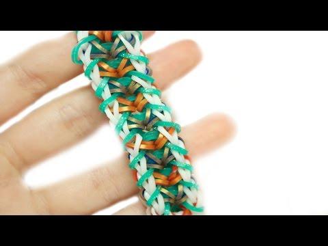 Kae Bracelet Tutorial | Rainbow Loom | One Loom