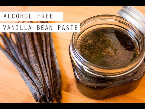 Vanilla Bean Paste | Alcohol Free | Vegan