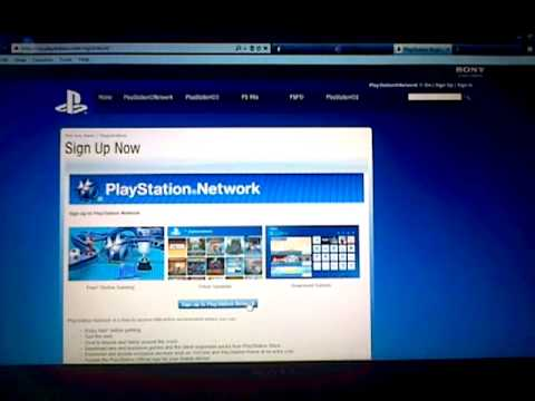how to make a playstation account on  a laptop/pc easy simple