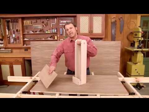 Woodsmith Tips: Plywood Carrying Tote (FREE PLAN)