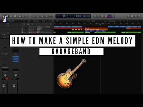 Garageband Tutorial #1 - How to make a simple EDM melody