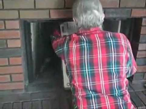 Hey Mom, There's a Squirrel in the Fireplace Chimney!