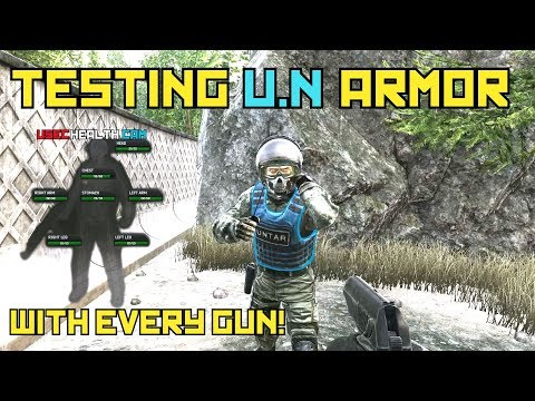 Testing The U.N Armor With Every Gun! - Escape From Tarkov