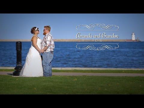 Amanda and Brandon - Wedding Highlights - Harbor Beach, MI