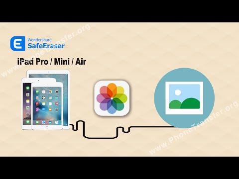 How to Compress Photos on Your iPad Pro/iPad Mini/iPad Air by SafeEraser