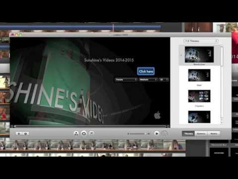 How To Burn A IMovie Project To IDVD