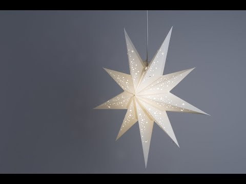 How To Make A Christmas Star using Paper?
