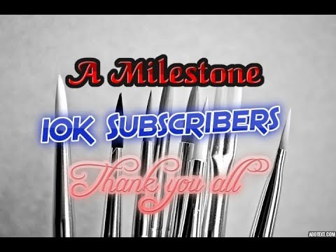 A Milestone | 10 000 Subscribers | Thank you All !!!